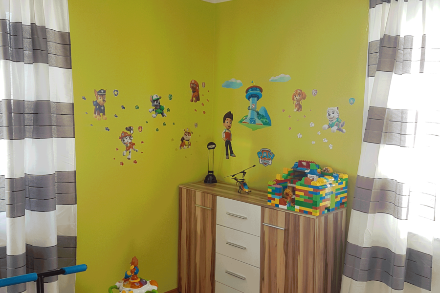 Kinderzimmer – Farbgestaltung
